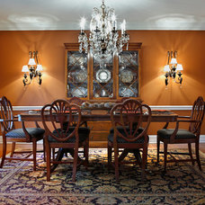 Traditional Dining Room by Valerie Garrett Interior Design