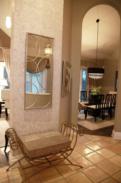 Contemporary Dining Room by ROOMS & BLOOMS