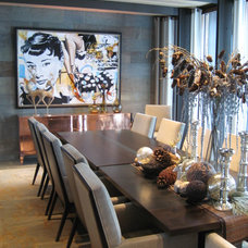 Contemporary Dining Room by Martin Patrick 3