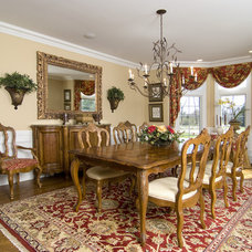 Traditional Dining Room by Maureen Fiori, AKBD, Allied Member ASID, CAPS