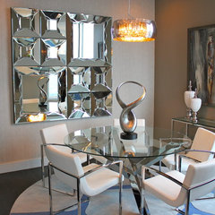 modern dining room by MN Design by Mauricio Nava