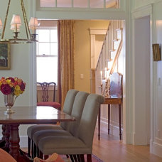 Traditional Dining Room by McCoppin Studios
