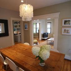 Modern Dining Room by Melissa Miranda Interior Design