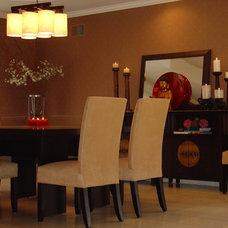 Contemporary Dining Room by metamorphosis interior design, Inc.