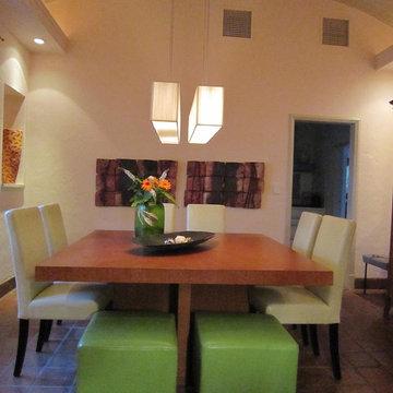 Dining room - Miami, Florida interior design