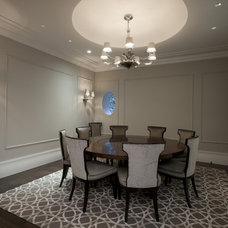 contemporary dining room by Michael Abrams Limited