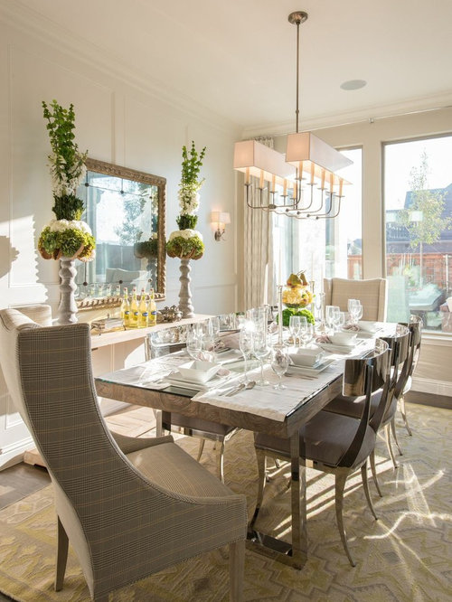 Silver Dining Chair | Houzz