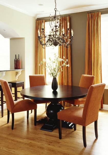 contemporary dining room by Molly McGinness Interior Design
