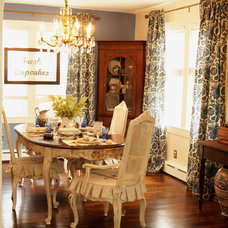 Eclectic Dining Room by Mustard Seed Interiors
