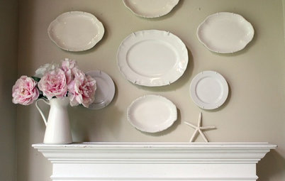 DIY: The Secret to Hanging a Plate Collection