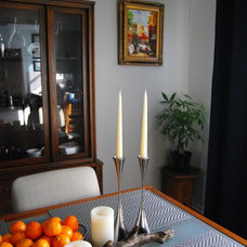 Eclectic Dining Room by Natalie Myers