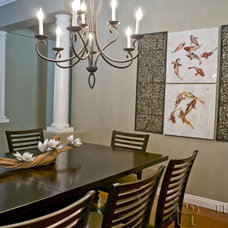Asian Dining Room by Natasha Sanchez/ Featured Interiors