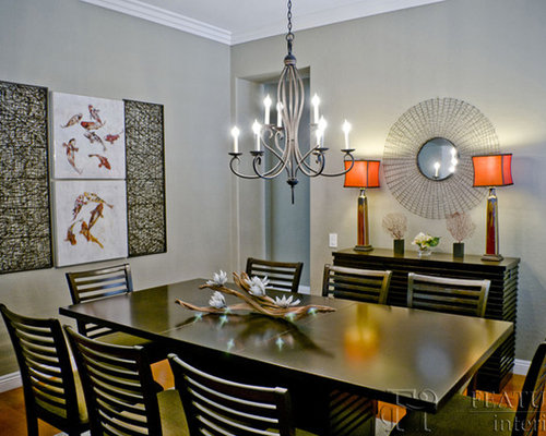 Asian Dining Room Design Ideas Remodels Photos