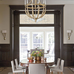 dining room by Neuhaus Design Architecture, P.C.