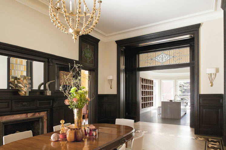Victorian Dining Room by Neuhaus Design Architecture, P.C.
