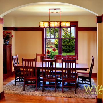 DINING ROOM, new Craftsman home