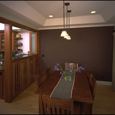 Traditional Dining Room by Nunley Custom Homes