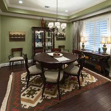 Traditional Dining Room by Steven Finger Custom Homes
