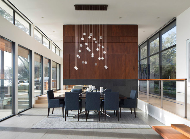 Modern Dining Room by ODS Architecture