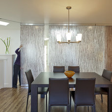 Contemporary Dining Room by Architect Andrew Morrall