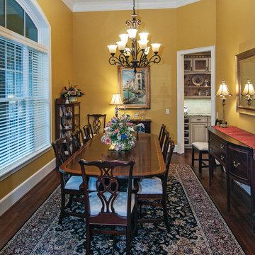 Dining Room of The Birchwood Plan #1239