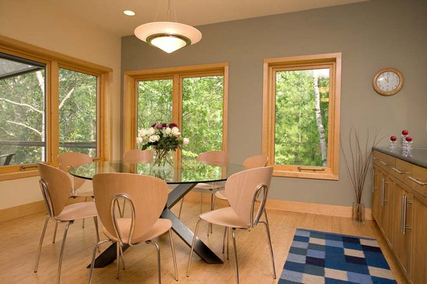 Contemporary Dining Room by Oldham Hirst Design, PC