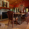 My Houzz: Natural, Autumnal Cabin Style in California