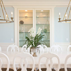Beach Style Dining Room by Page 2 Design