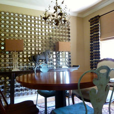 Traditional Dining Room by Paula Cipolli Design