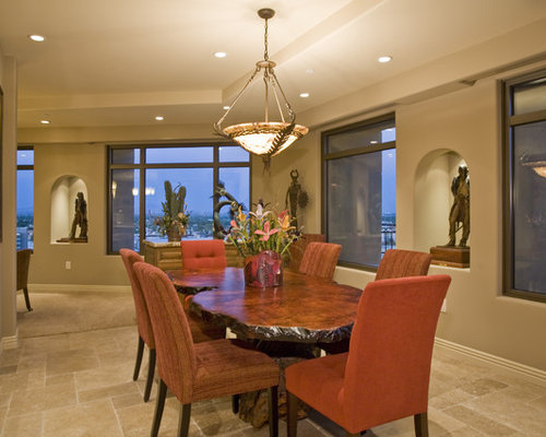 Western interiors home design ideas pictures remodel and for Western dining room ideas