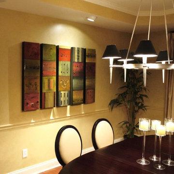 Dining Room Project/Custom Frames