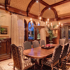 Traditional Dining Room by R.J. Gurley Construction