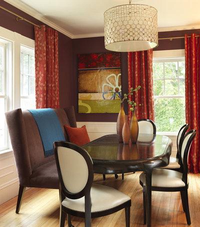 Beautiful Contemporary Dining Room by Rachel Reider Interiors