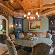Traditional Dining Room by RAHokanson Photography