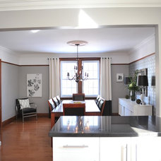 Contemporary Dining Room by refresh home staging and redesign