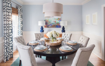 Room of the Day: Artwork Inspires a Fresh and Happy Dining Room