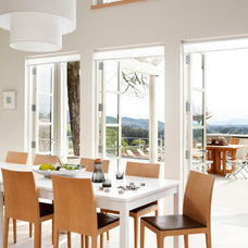 Contemporary Dining Room by Remick Associates Architects + Master Builders