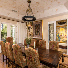 Mediterranean Dining Room by Smith Brothers