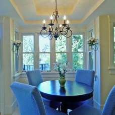 Traditional Dining Room by Kallweit Graham Architecture