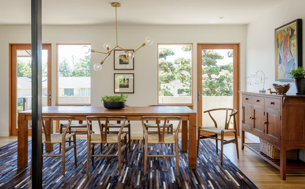 Trend Modern Dining Room by risa boyer architecture