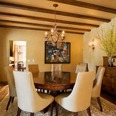Traditional Dining Room by Riverland Homes Inc