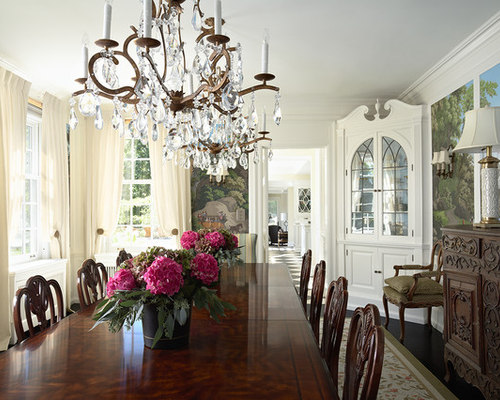 Built In Dining Room Cabinets Houzz