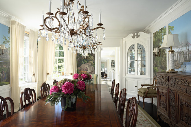 Traditional Dining Room by RLH Studio