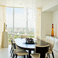 Contemporary Dining Room by Roy Campana Photography
