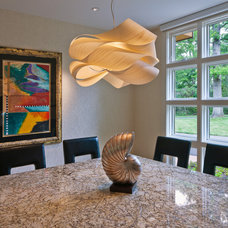 Contemporary Dining Room by RWA Architects