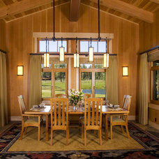 Craftsman Dining Room by Ryan Group Architects