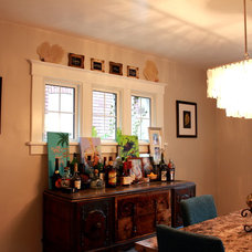 Eclectic Dining Room by Sara Bates