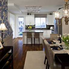 Traditional Dining Room by Sara Brown & Company