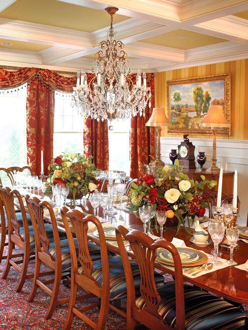Dining table arrangement design ideas remodel pictures for Dining room arrangement ideas