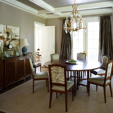 Traditional Dining Room by Sara Tuttle Interiors